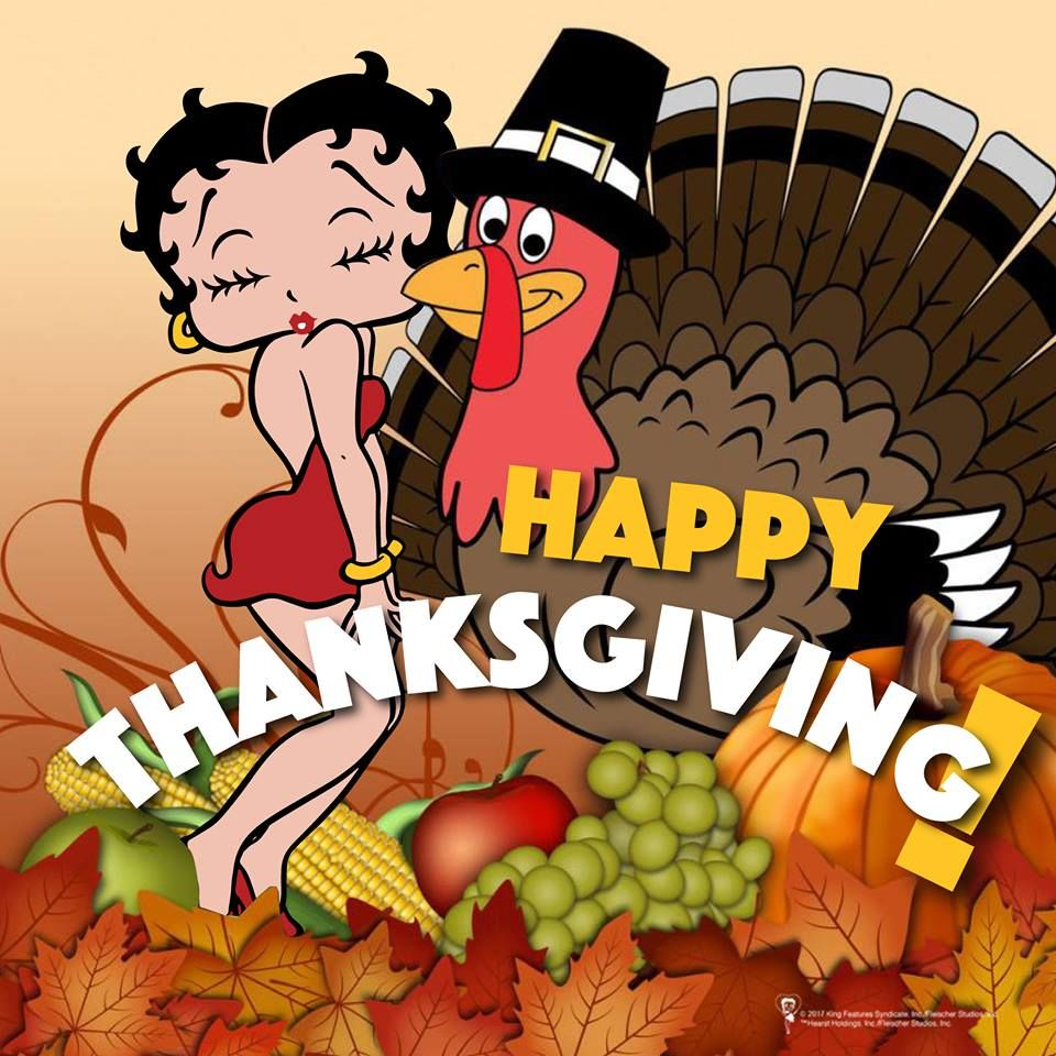 Betty Boop Thanksgiving Pictures Free Download Clip Art.
