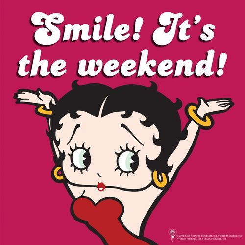 Image result for betty boop weekend.