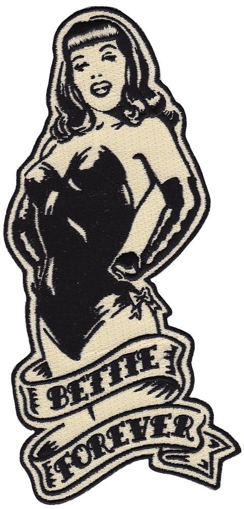 Bettie page bettie forever patch.