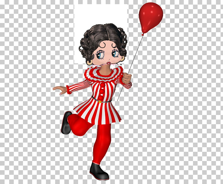 Figurine Profession Balloon , Betty Page PNG clipart.