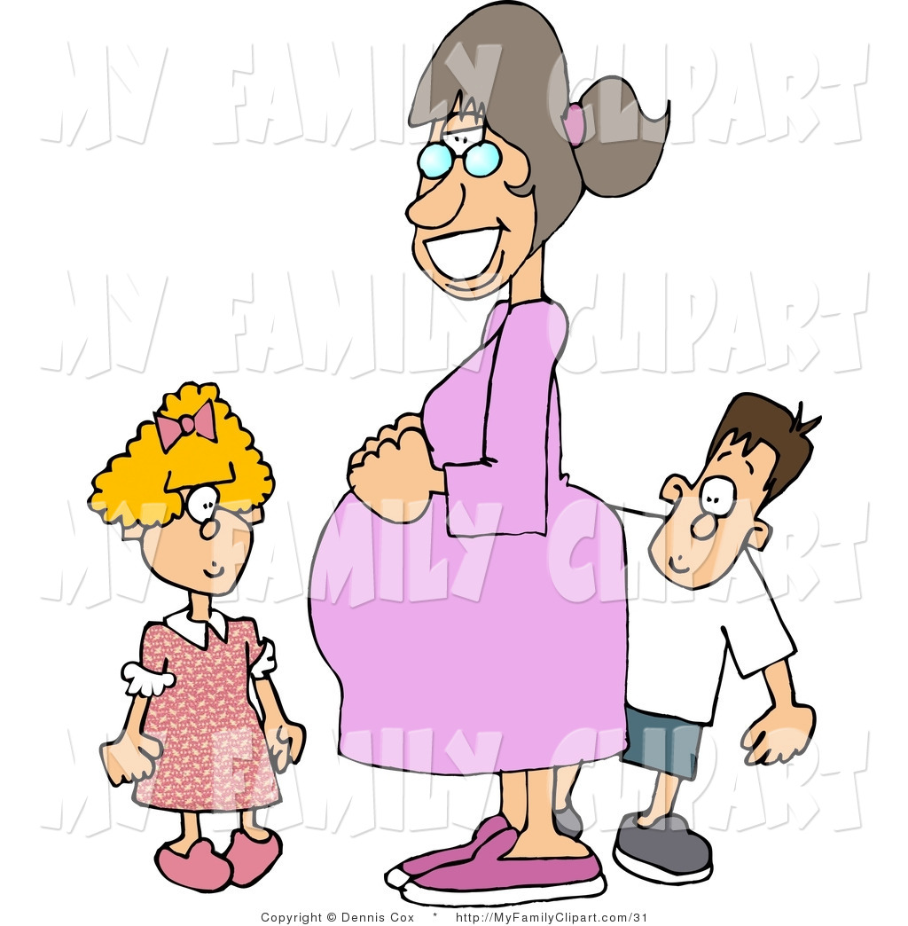 Royalty Free Stock Family Designs of Mothers.