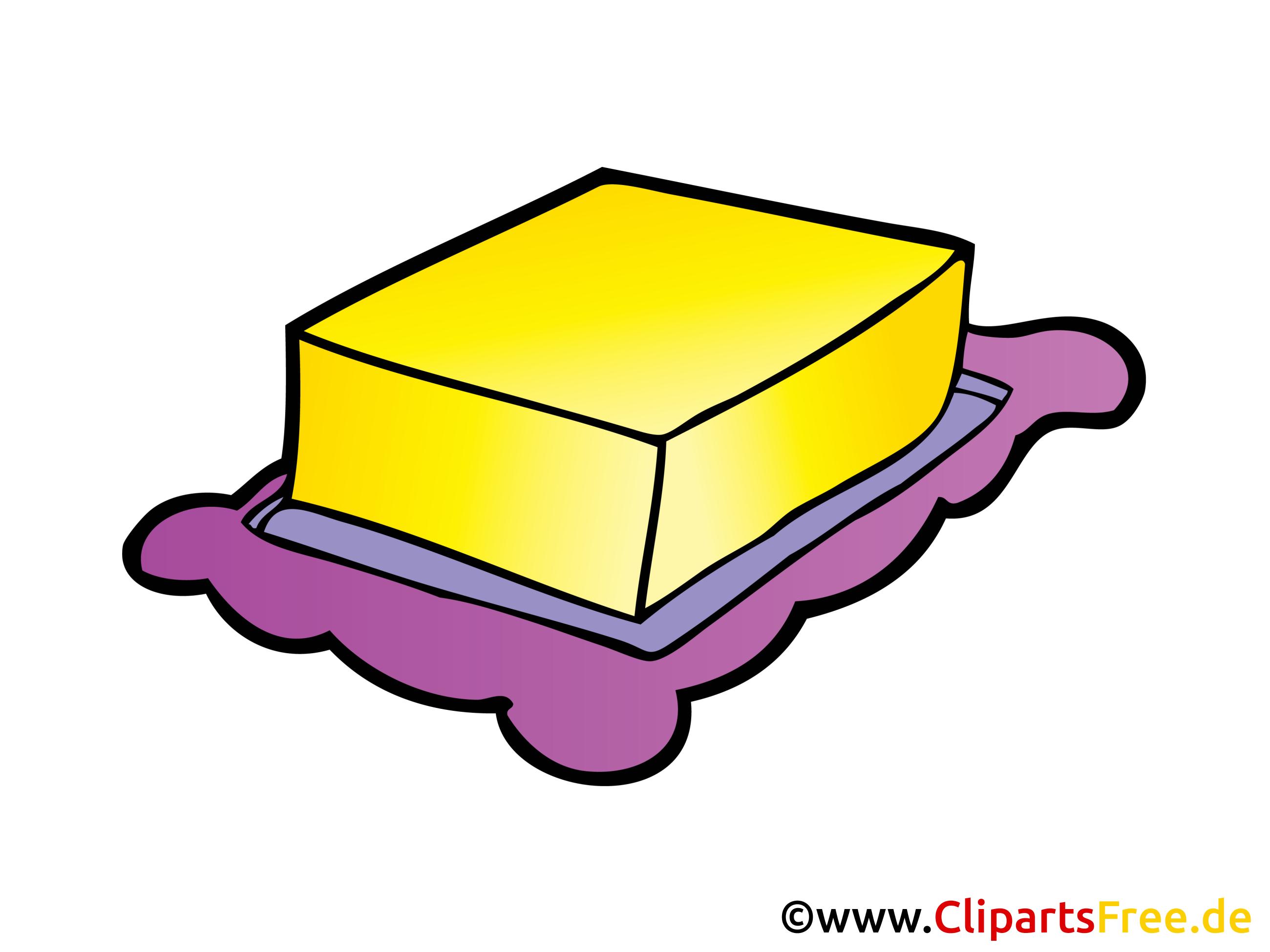 Beurre cliparts gratuis.