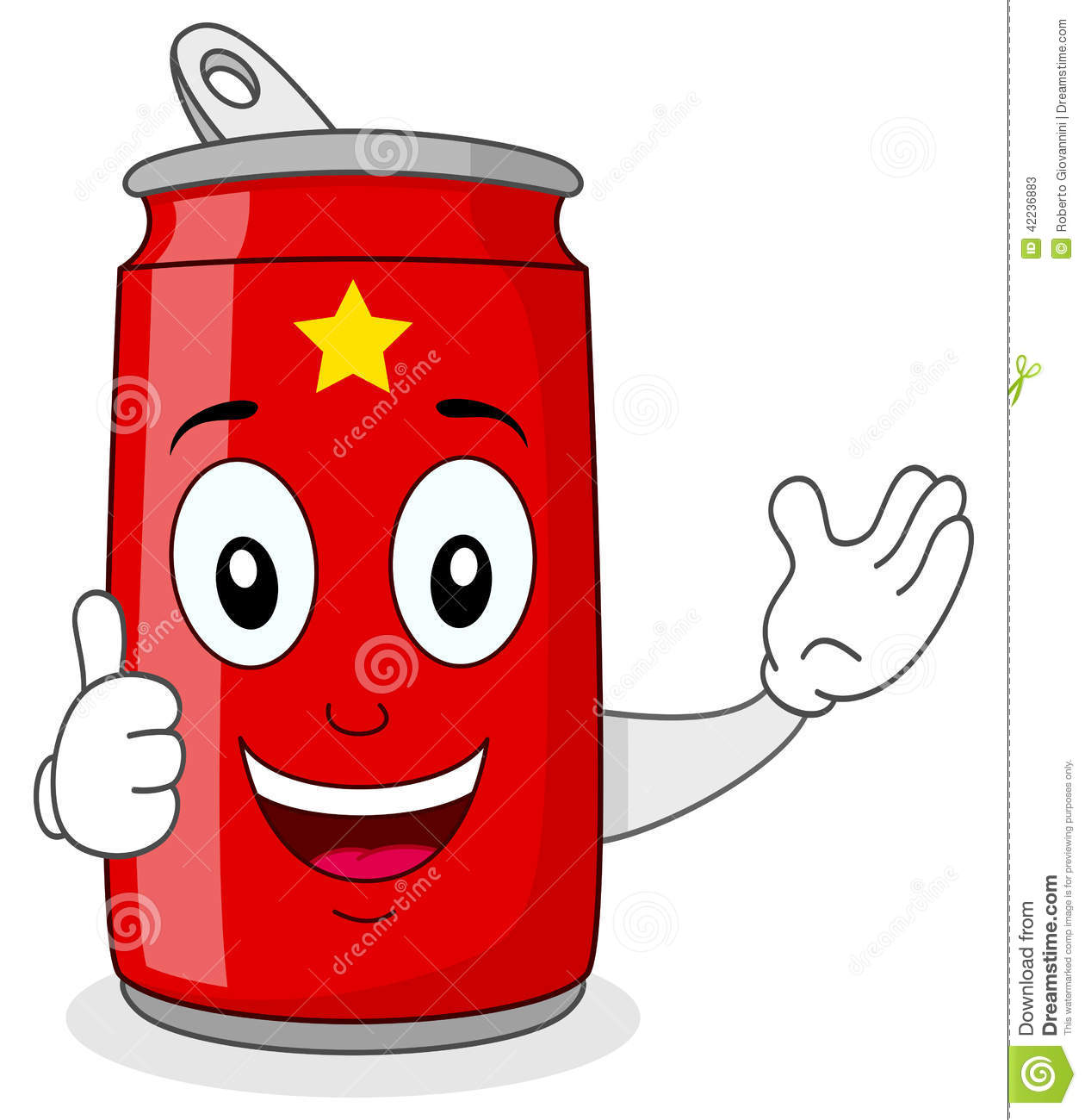 Beverage can clipart - Clipground