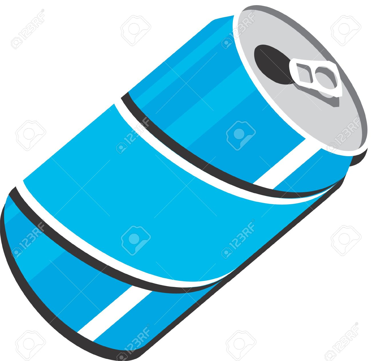 Free soda can clipart.