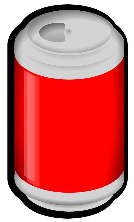 Soda Can Clipart.
