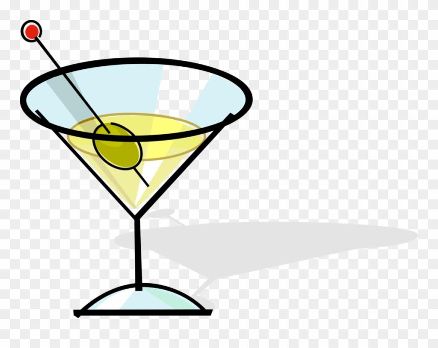 Martini Image Illustration Of Alcohol Beverage Clipart (#2409621.