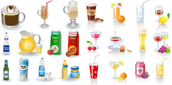 Beverage clip art Free vector in Encapsulated PostScript eps ( .eps.