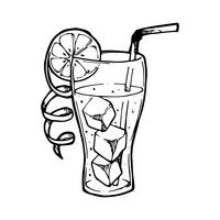 Cold Drink Clipart Black And White.