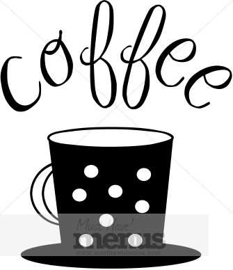 Coffee Date Clipart.