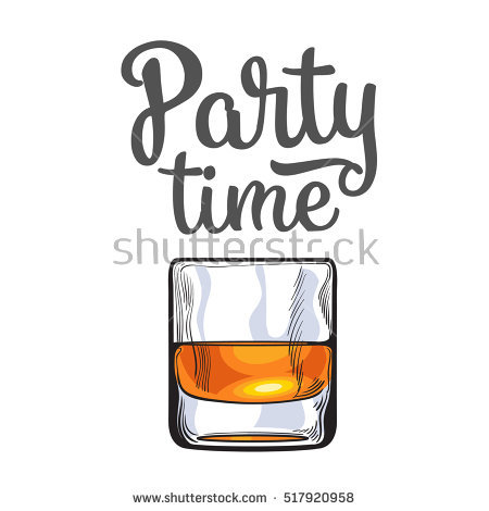 Whiskey Glass Stock Images, Royalty.