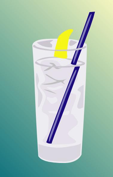 Ice Water Glass clip art Free Vector / 4Vector.