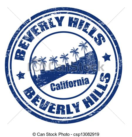 Beverly hills clipart.