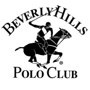 Beverly Hills Polo Club Men's Pique Polo with Horse Logo.