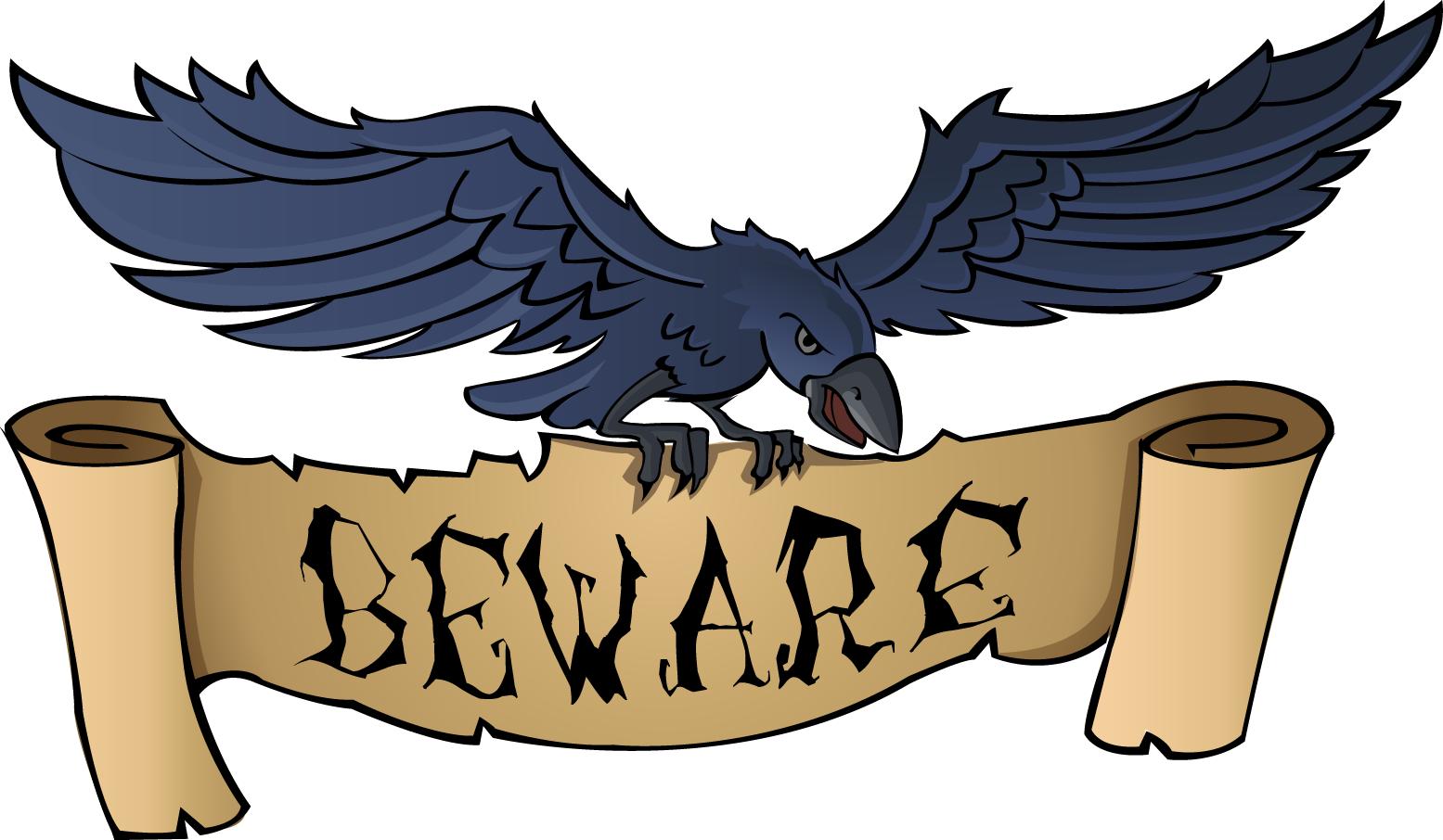 Beware clipart.