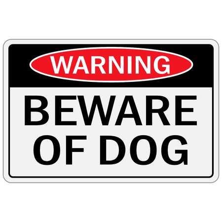 849 Beware Of Dog Stock Vector Illustration And Royalty Free Beware.