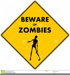 Beware Sign Clipart.