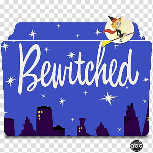 Bewitched transparent background PNG cliparts free download.