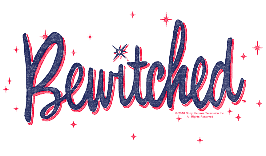 Bewitched Retro Logo Men\'s Heather T.