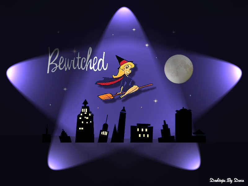 Star Shaped Bewitched Logo.