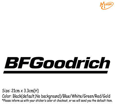 3 BF GOODRICH Sticker.