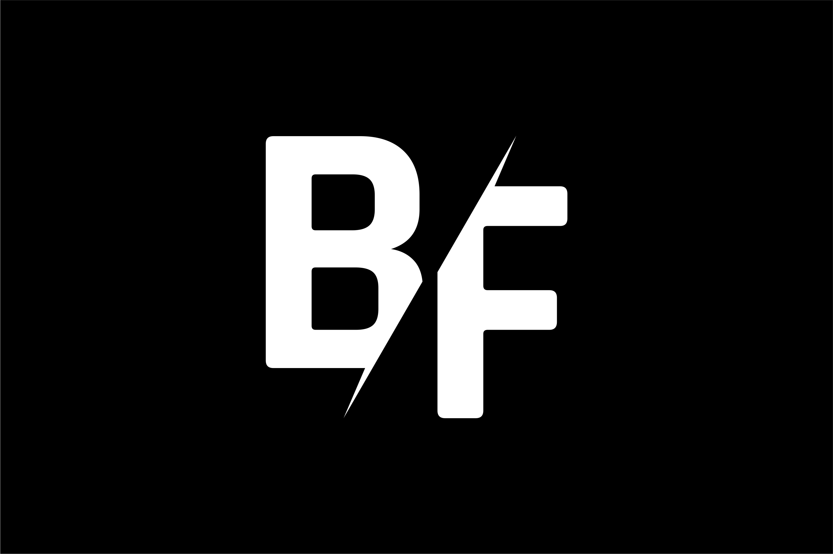 Monogram BF Logo Design.