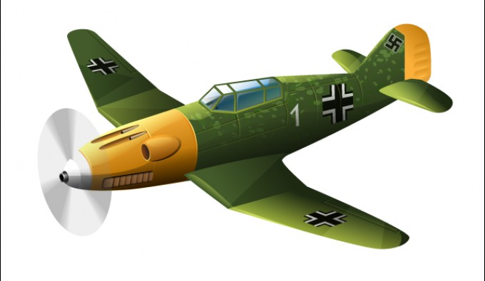 BF 109 Vector.