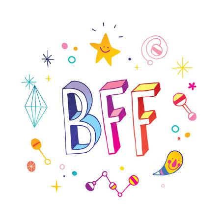 278 Bff Stock Illustrations, Cliparts And Royalty Free Bff Vectors.
