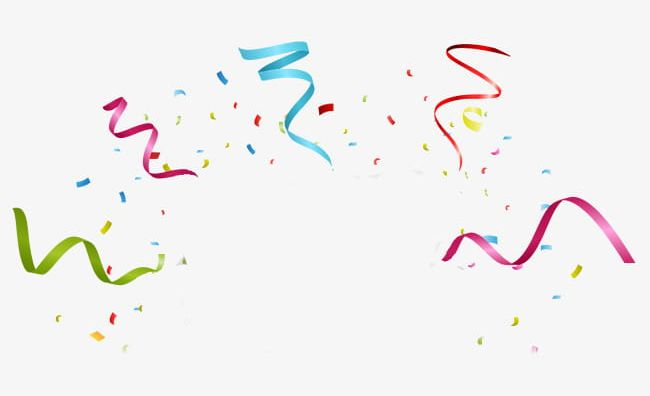 Colorful Fireworks Ribbons PNG, Clipart, Color, Colorful.