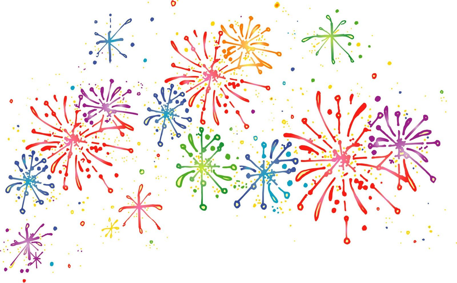 Fireworks clipart free.