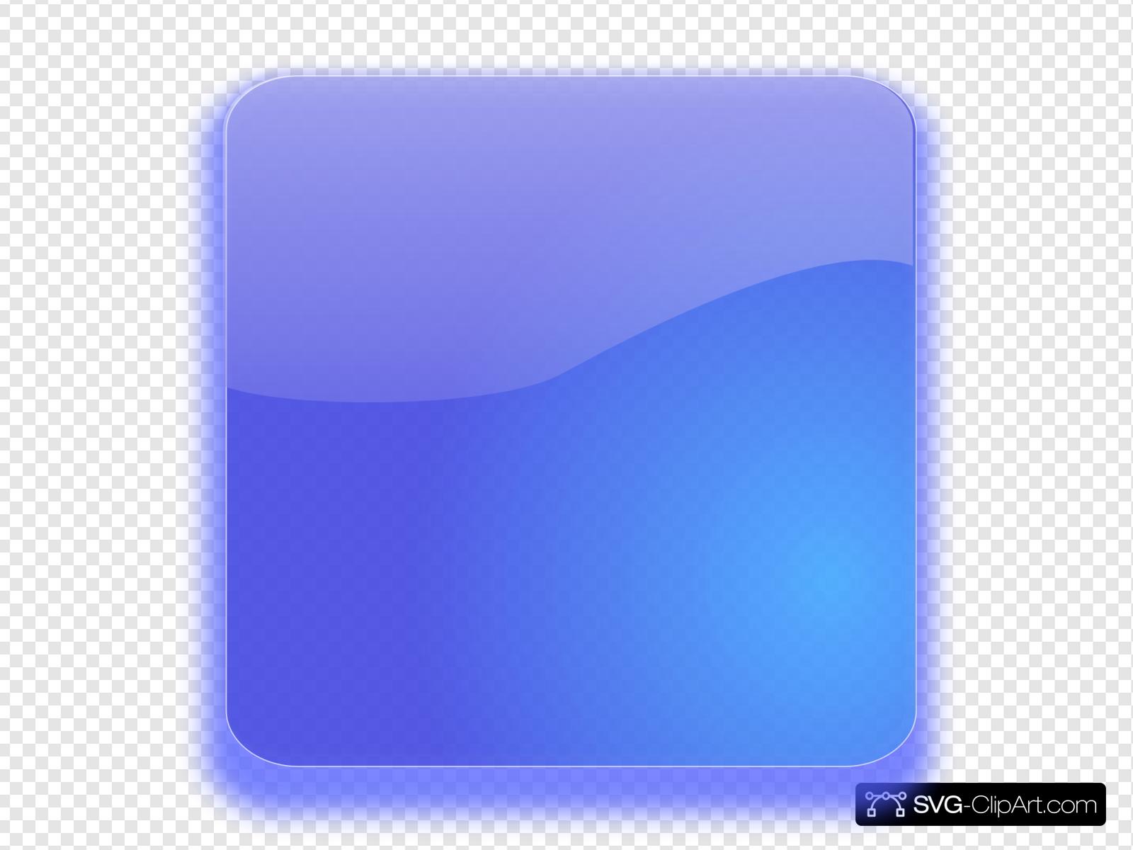 Blue Button No Bg Clip art, Icon and SVG.