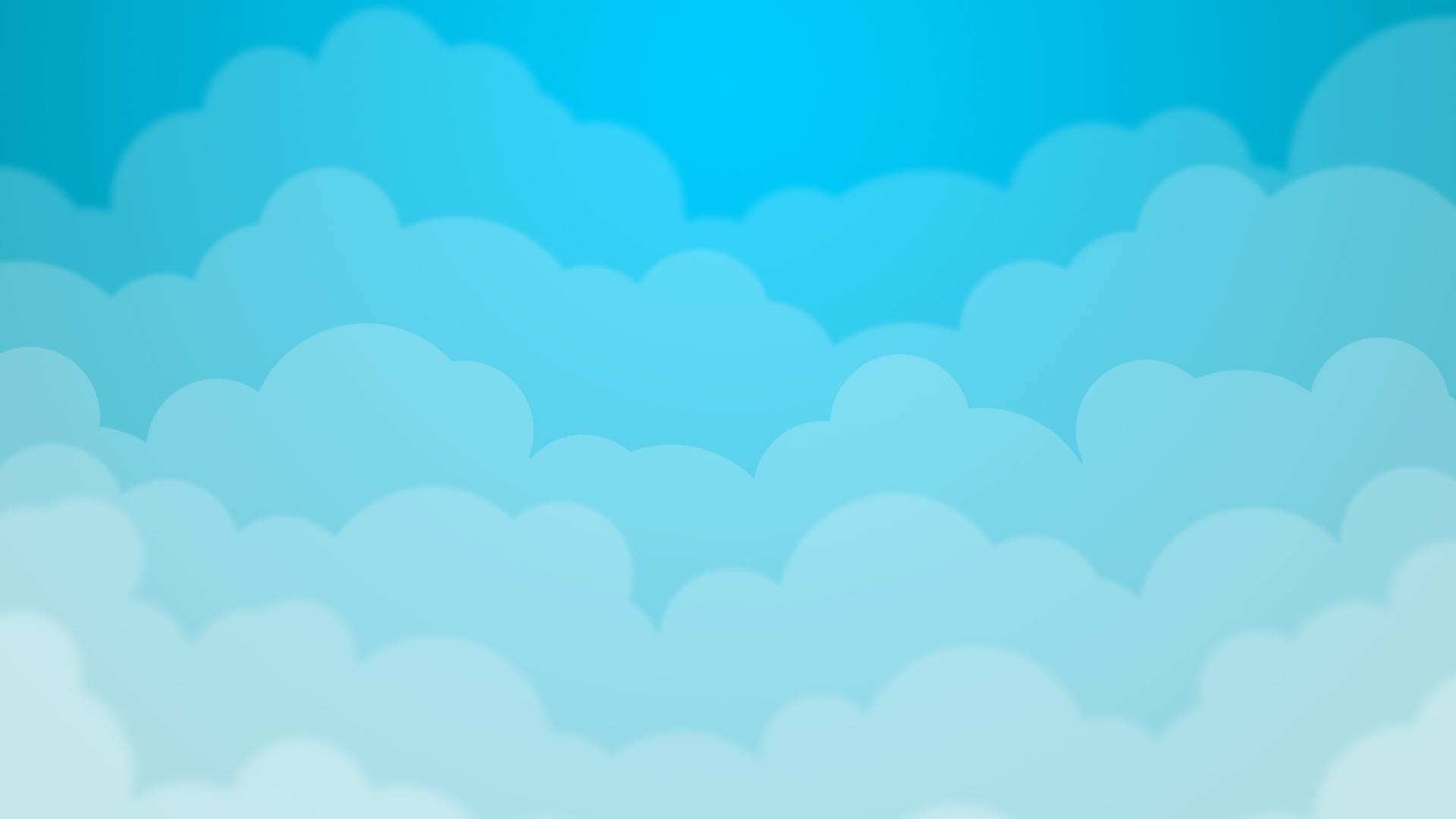Cloudy Sky Background Clipart.