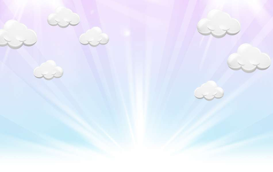 After birth, light, clouds Free PPT Backgrounds for your.