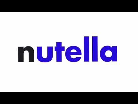 Nutella Logo in RGB to BGR Reversed.