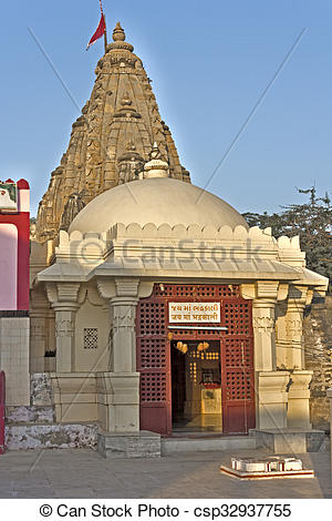 Stock Images of Bhadrakali temple.