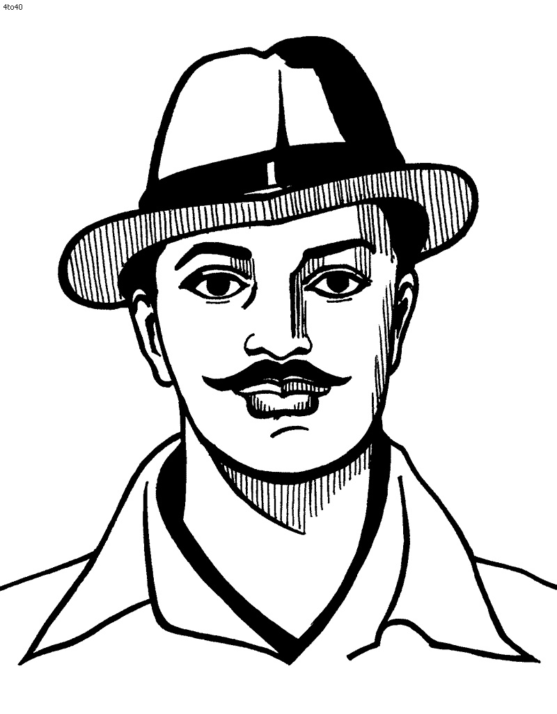 Bhagat Singh Clipart & Look At Clip Art Images.