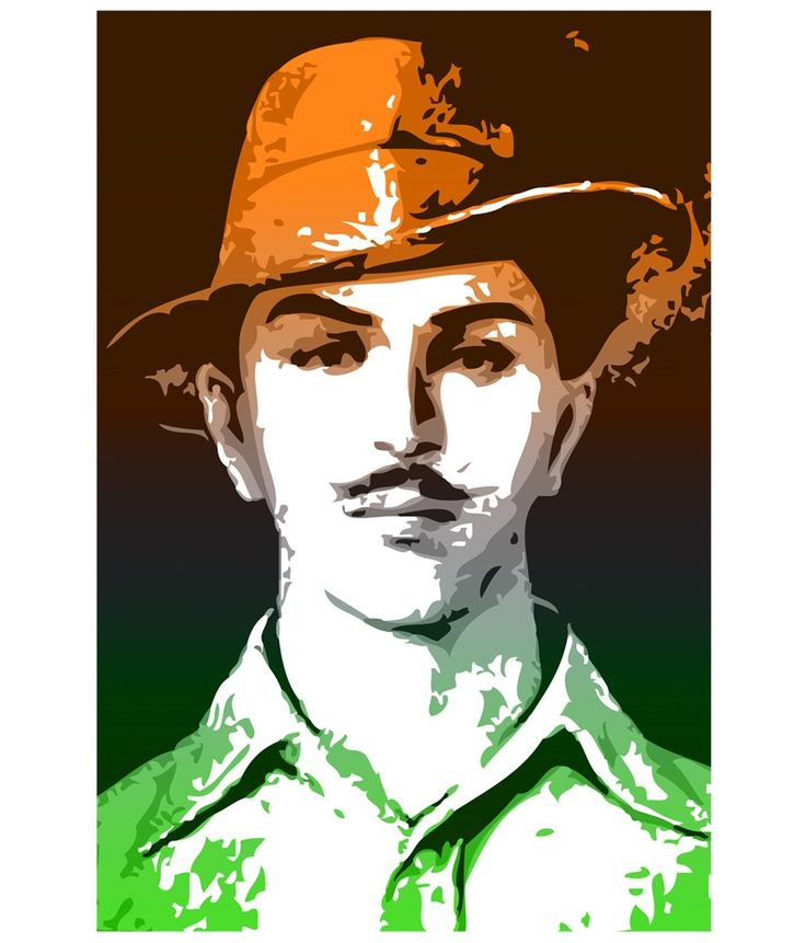 Bhagat singh clipart 1 » Clipart Station.