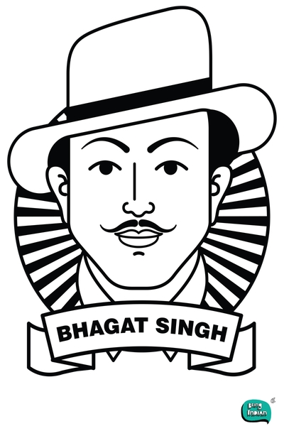 Bhagat singh clipart 7 » Clipart Station.