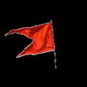 Orange Flag PNG Clipart.