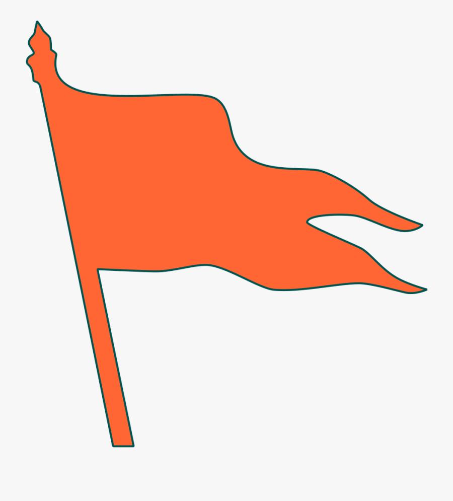 Bhagwa Flag Png.
