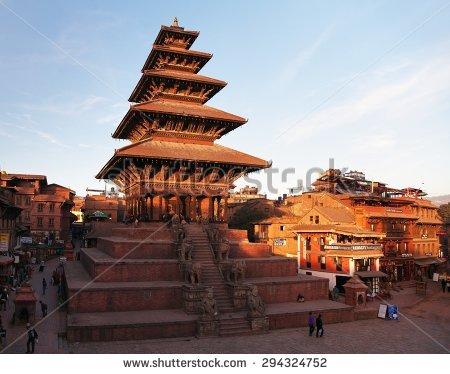 Old Town Bhaktapur Stock Photos, Royalty.