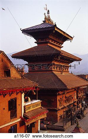 Picture of Bhaktapur, Taumadhi Tole, Bhairabnath Temple a116.