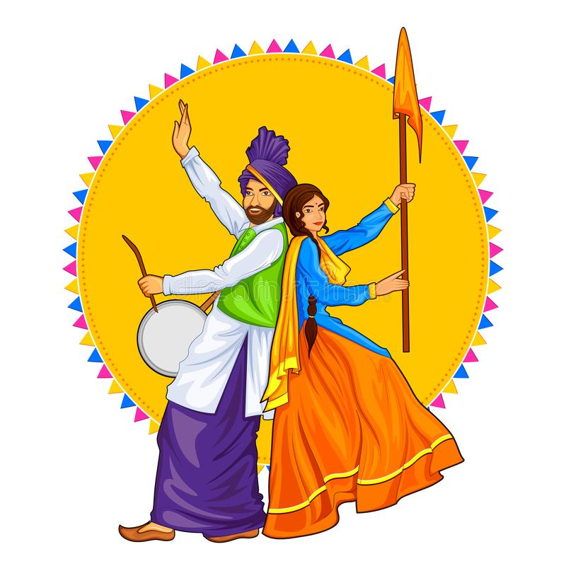 Bhangra Stock Illustrations.
