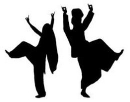 Bhangra clipart black and white 4 » Clipart Station.