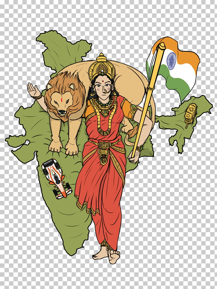 Maharashtra Map , Bharat Mata PNG clipart.