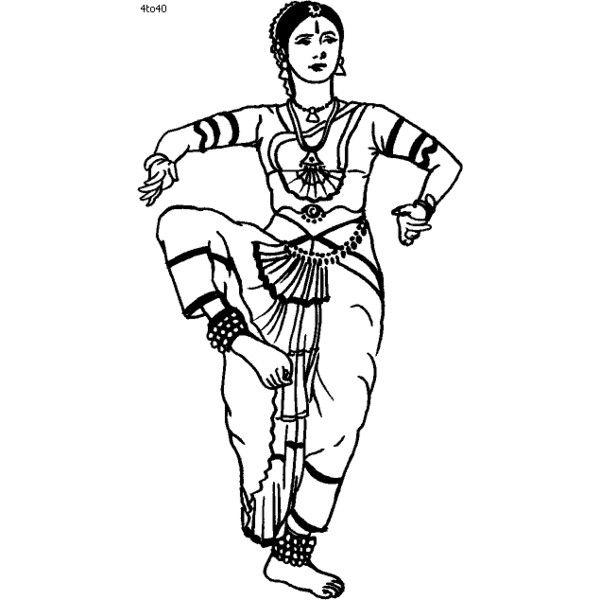 Bharatanatyam Dance Techniques\' Classical Indian Dance.