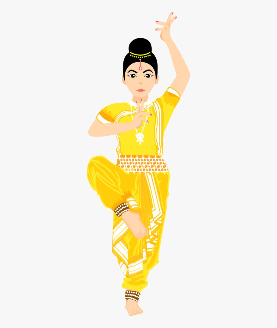 Bharatanatyam Dancing Cartoon, Cliparts & Cartoons.