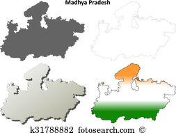 Bhopal set Clipart EPS Images. 6 bhopal set clip art vector.