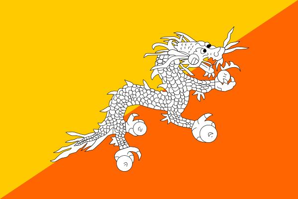 Bhutan clip art Free Vector / 4Vector.