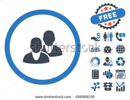 Staff Icon Bonus Clip Art Vector Stock Vector 488282077.