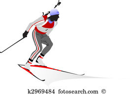 Biathlon Clipart Illustrations. 387 biathlon clip art vector EPS.